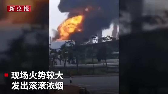 珠海石化厂爆炸现场指挥利器:紫燕系留无人机