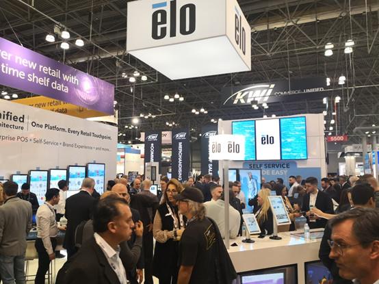 Elo(益逻科技)亮相2020全美零售展
