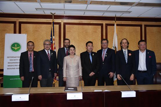"""国际再生医学与创面修复学会第三届""""再生医学论坛""""在加州举办"""